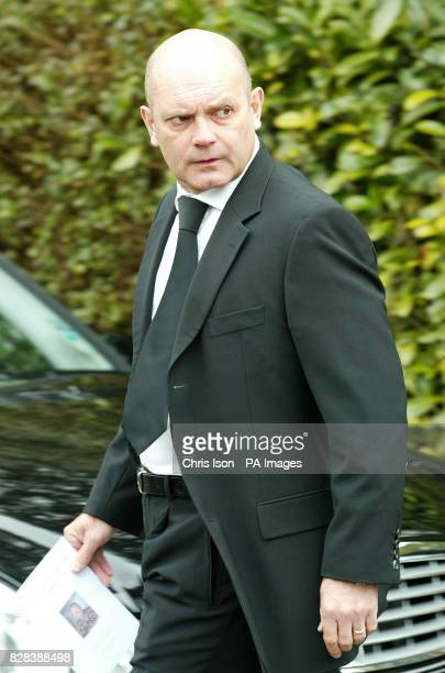 Former footballer Ray Wilkins at the funeral of Chelsea and England star Peter Osgood at St John the Baptist Church in Shedfield Hampshire Tuesday...
