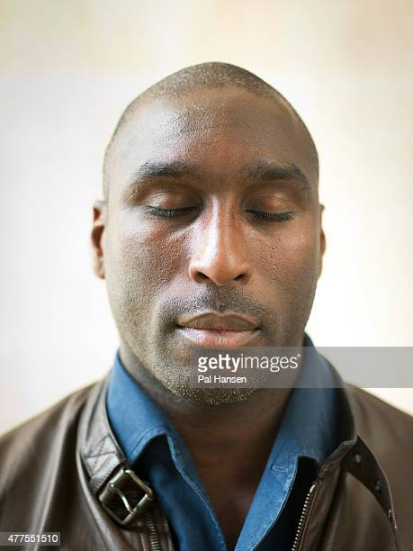 Former footballer Sol Campbell is photographed for the Observer on June 17 2014 in London England
