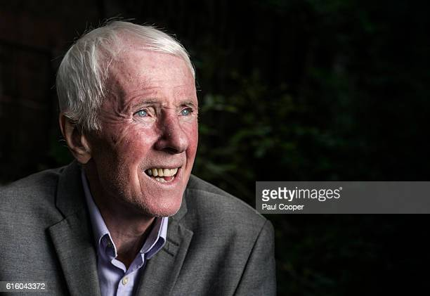 Former footballing Stan Bowles is photographed for the Telegraph on September 21 2016 in Manchester England
