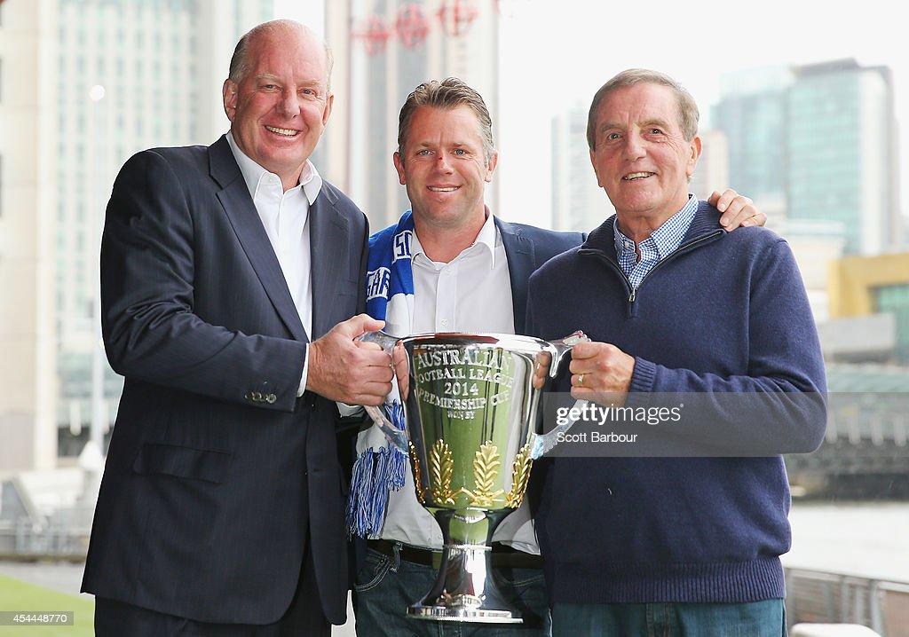 AFL Premiership Cup Handover