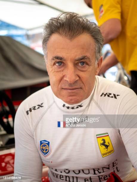 Former formula 1 driver Jean Alesi attends the 12th edition of the Historic Monaco Grand Prix on April 24, 2021 in Monaco, Monaco.