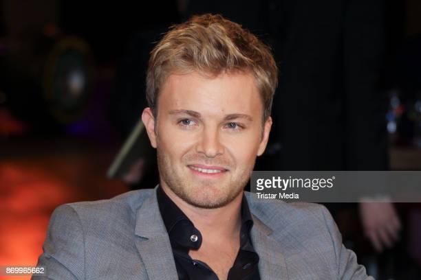 Former formula one race driver Nico Rosberg during the NDR Talk on November 3, 2017 in Hamburg, Germany.