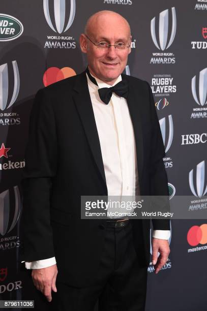 Former France coach Bernard Laporte attends during the World Rugby Awards 2017 in the Salle des Etoiles at MonteCarlo Sporting Club on November 26...