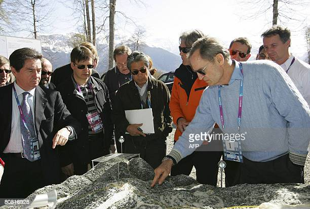 Former French Alpine skiing champion JeanClaude Killy head of the IOC's coordination commission to monitor progress for the Sochi Winter Olympics and...