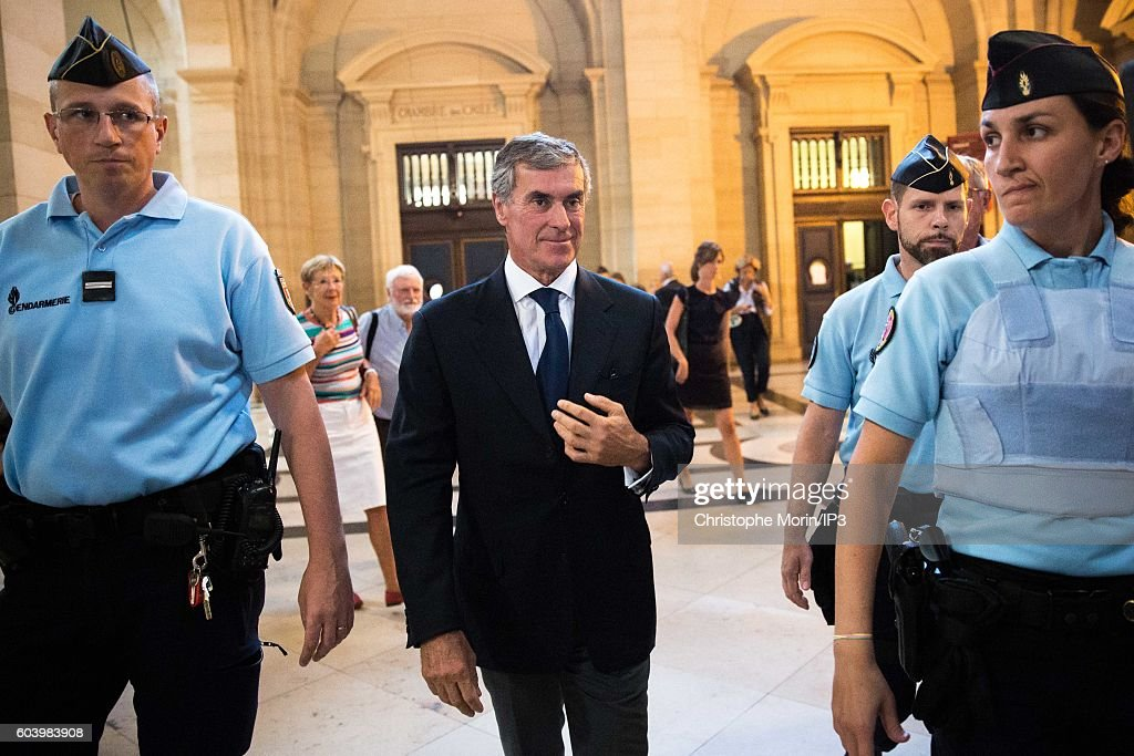 France's Former Budget Minister Jerome Cahuzac At The Paris Court House
