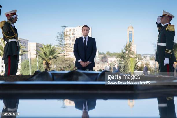 Former French Economy Minister Founder and Leader of the political movement 'En Marche ' and candidate for the 2017 French Presidential Election...
