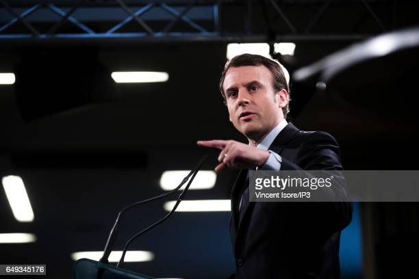 Former French Economy Minister, Founder and Leader of the political movement 'En Marche !' and candidate for the 2017 French Presidential Election...