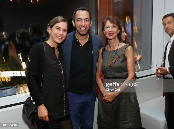 Former French international footballerYouri Djorkaeff attends the TV5MONDE Cinema On Demand Celebration at A Voce Columbus on September 20 2013 in...