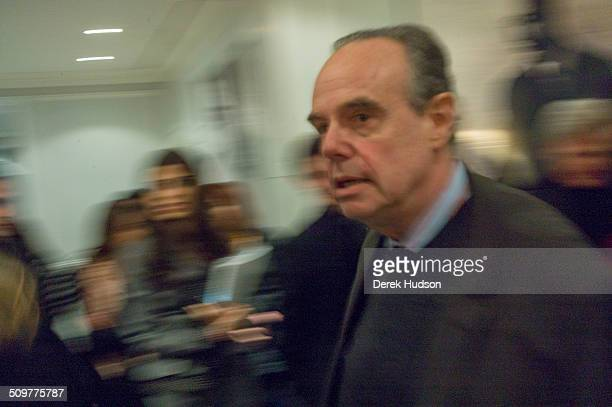 Former French minister for culture Frederic Mitterrand attends a Christian Dior fashion show