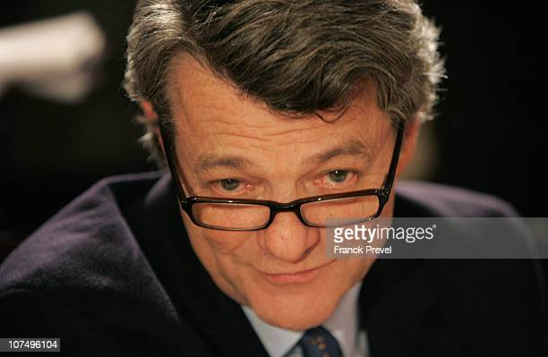 Former french Minister for Ecology JeanLouis Borloo and president of the radical party presented as a potential candidate to the french presidential...