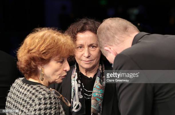 Former French Minister of European Affairs, Noelle Lenoir, Member of the Council of State of Spain, AnaÊPalacio, and formerÊMinister of Social...