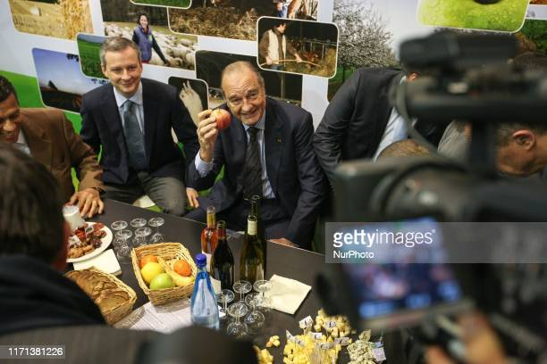 Former French president Jacques Chirac 77 years old visits the International Agricultural Fair on March 5 2010 in Paris Jacques Chirac a centreright...