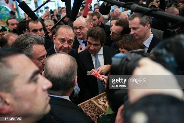 Former French president Jacques Chirac , 77 years old, visits the International Agricultural Fair on March 5, 2010 in Paris. Jacques Chirac, a...