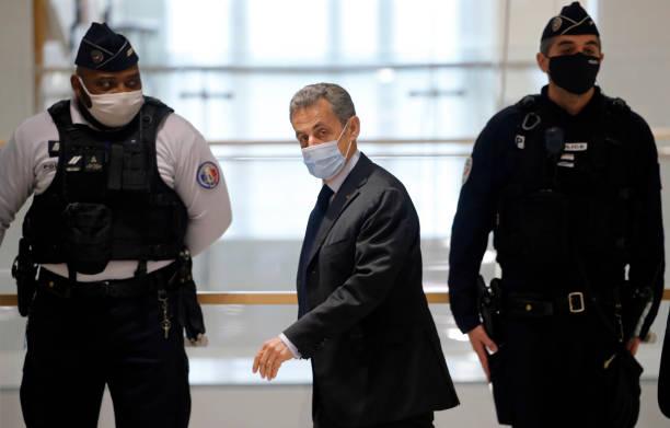 FRA: Sarkozy Returns To Court In Corruption Case