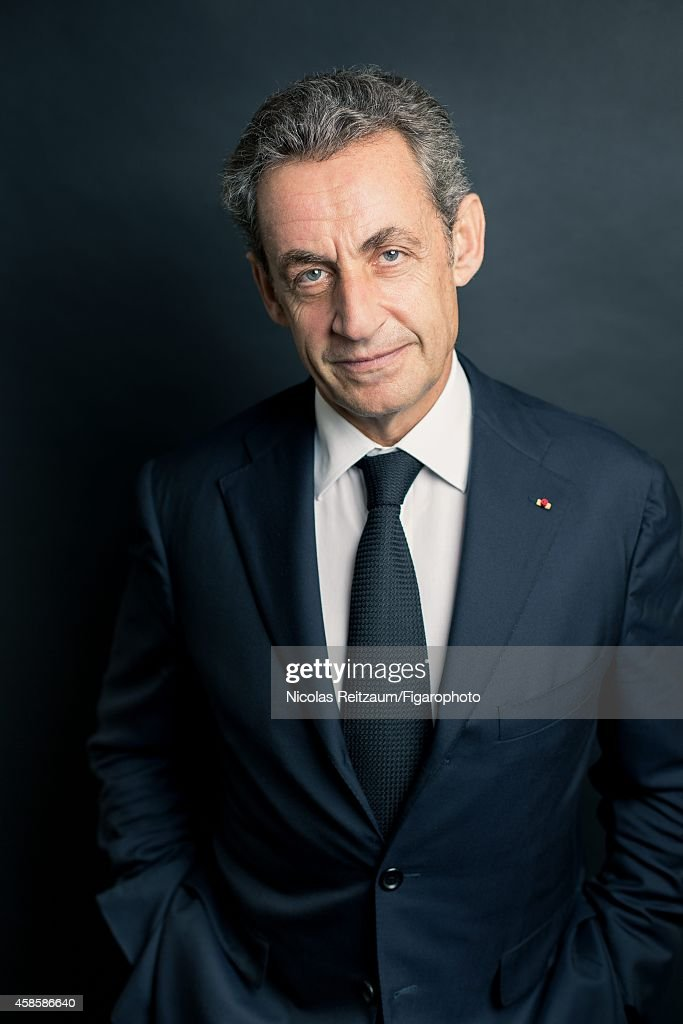 Former French president, Nicolas Sarkozy is photographed for Le Figaro Magazine on September 20, 2014 in Paris, France.