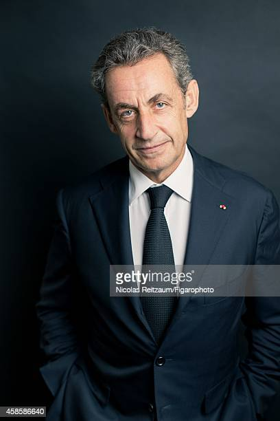 Former French president Nicolas Sarkozy is photographed for Le Figaro Magazine on September 20 2014 in Paris France CREDIT MUST READ Nicolas...