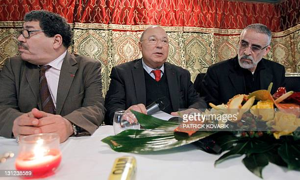 Former French president Nicolas Sarkozy's adviser Abderrahmane Dahmane rector of Paris Grand Mosque and president of the French Council for Muslims...