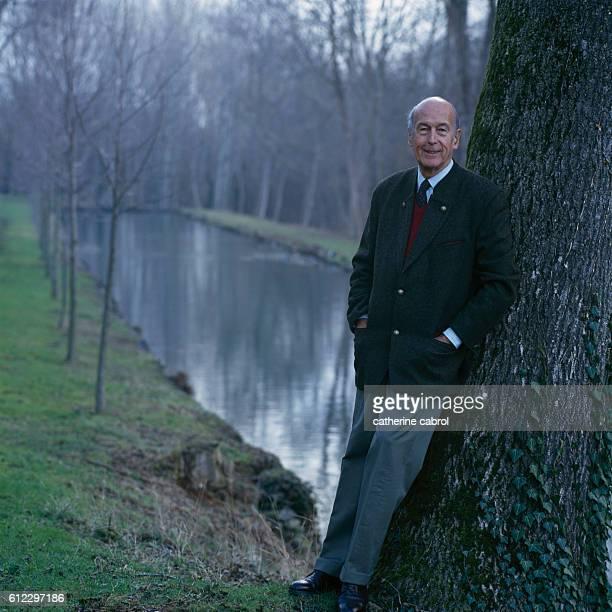 Former French President Valery Giscard d'Estaing