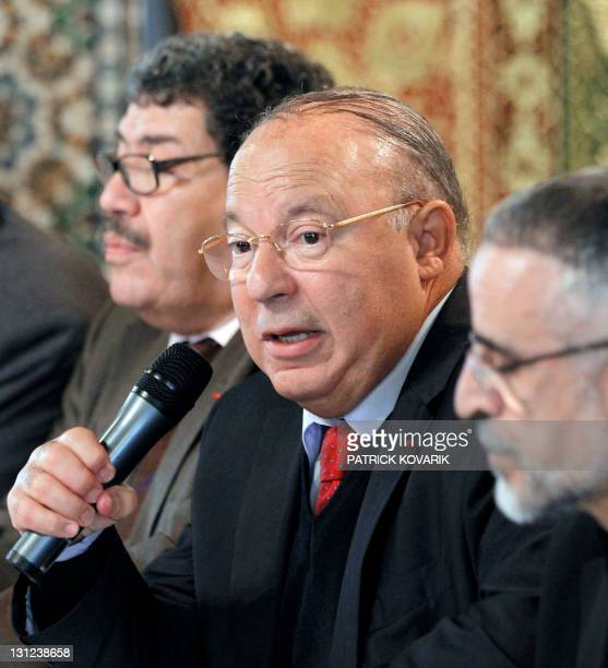 Former French president's adviser Abderrahmane Dahmane rector of Paris Grand Mosque Dalil Boubakeur and director of the Musulman Al Ghazali Institute...