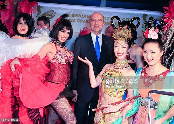 Former French Prime Minister Alain Juppe attends American Friends of Cite Des Civilisations Du Vin Wine And Food Extravaganza at The United Nations...