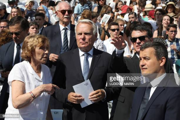 Former French Prime Minister Edith Cresson former French Prime Minister JeanMarc Ayrault former French Prime Minister Manuel Valls and French...