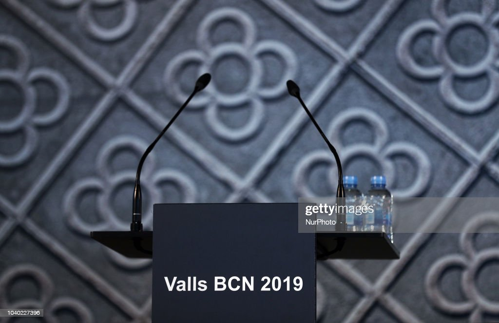 Manuel Valls Announces Candidacy To Be Mayor Of Barcelona