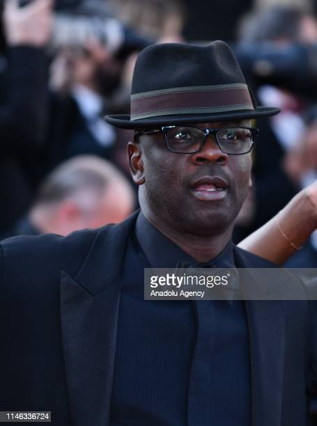 Former French soccer player Lilian Thuram arrives for the Closing Awards Ceremony of the 72nd annual Cannes Film Festival in Cannes France on May 25...