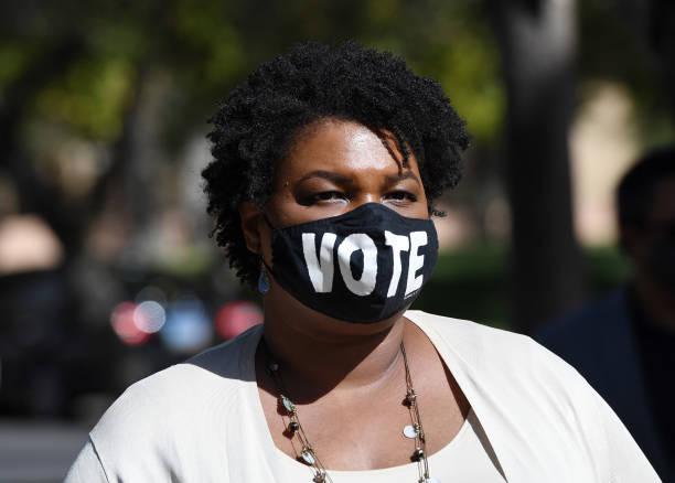 NV: Stacey Abrams Campaigns For Joe Biden In Las Vegas