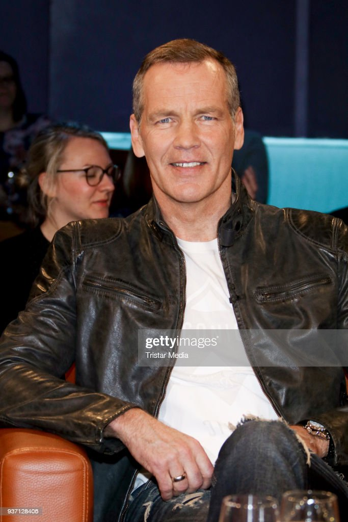 Former German boxing champion Henry Maske during the NDR Talk Show on March 23, 2018 in Hamburg, Germany.