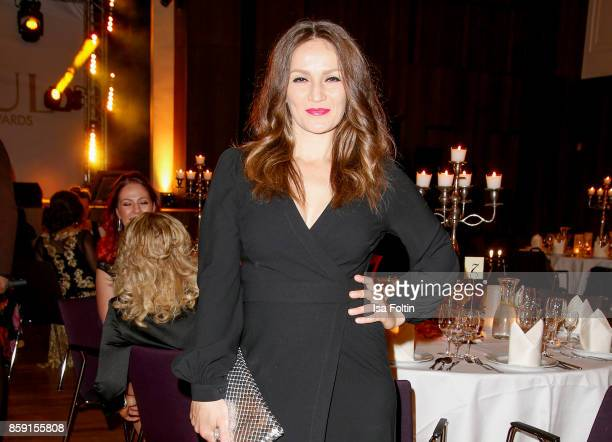 Former German boxing champion Ina Menzer attends the German Boxing Awards 2017 on October 8 2017 in Hamburg Germany