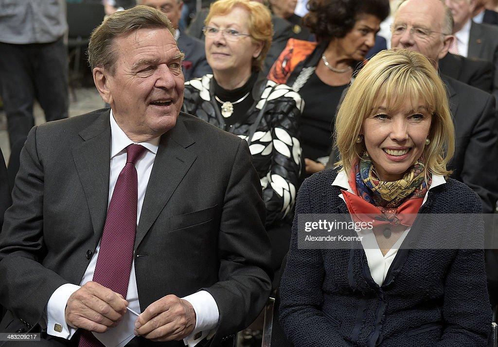 Gerhard Schroeder Celebrates 70th Birthday In Hanover