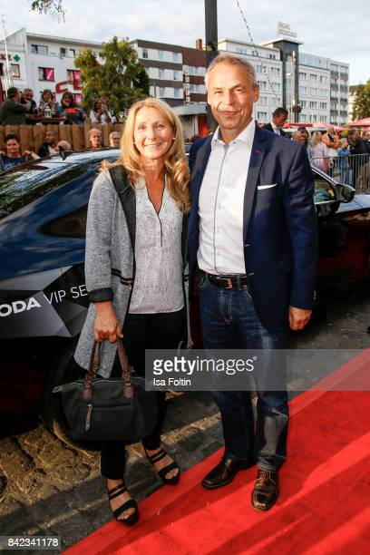 Former german soccer player Olaf Thon and his wife Andrea Thon attend the 'Nacht der Legenden' at Schmidts Tivoli on September 3 2017 in Hamburg...