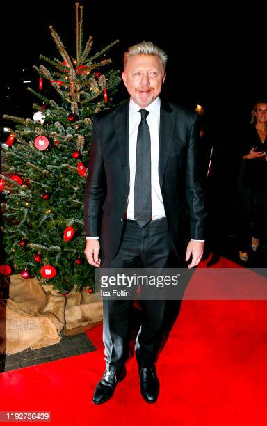 """Former German tennis player Boris Becker during the Daimlers """"BE A MOVER"""" event at Ein Herz Fuer Kinder Gala at Studio Berlin Adlershof on December..."""