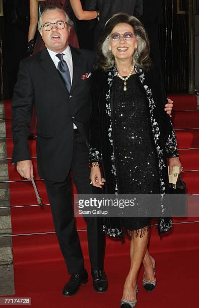 Former German Vogueeditorinchied Angelica Blechschmidt attends the 2007 Quadriga Awards for outstanding contributions to society and world politics...