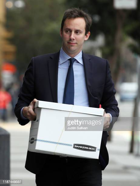Former Google and Uber engineer Anthony Levandowski arrived to a court appearance at the Phillip Burton Federal Building and US Courthouse on...