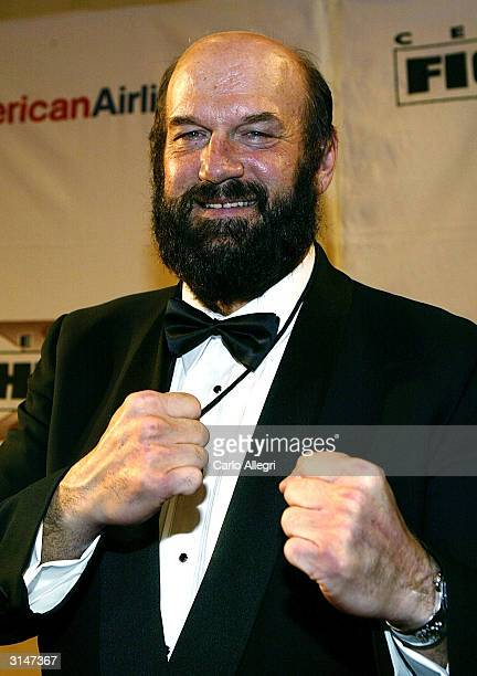 Former Governer Jesse Ventura arrives at Celebrity Fight Night X a charity event to raise money for the Muhammad Ali Parkinson Research Center at...