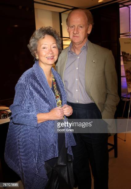 Former Governor General Adrienne Clarkson and husband author John Ralston Saul attend the Chanel party for Days of Darkness during the Toronto...