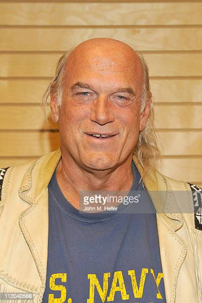 "Former Governor of Minnesota/wrestler/TV Host Jesse Ventura signs copies of his new book ""63 Documents The Government Doesn't Want You To Read"" at..."