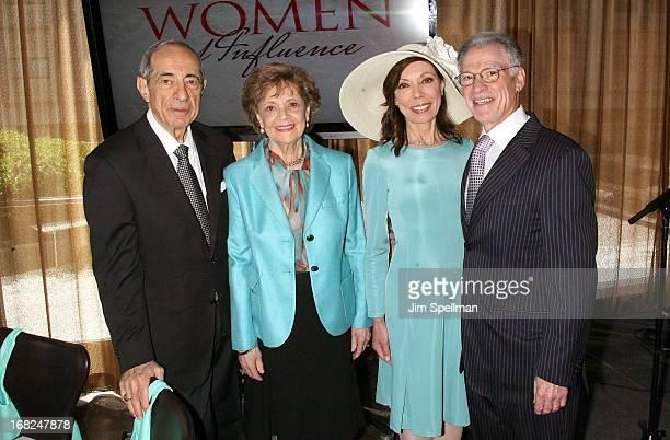 Former Governor of New York Mario Cuomo Matilda Raffa Cuomo Margaret Cuomo and Howard Maier attend the 2013 TJ Martell Foundation Women Of Influence...