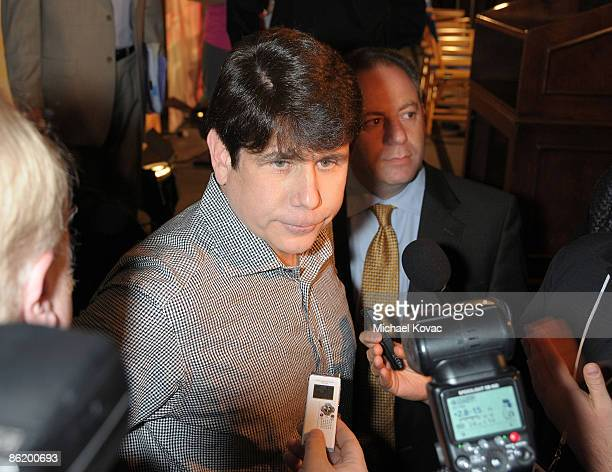 Former Governor Rod Blagojevich attends NBC's I'm a CelebrityGet Me Out Here at The Langham Hotel on April 24 2009 in Pasadena California