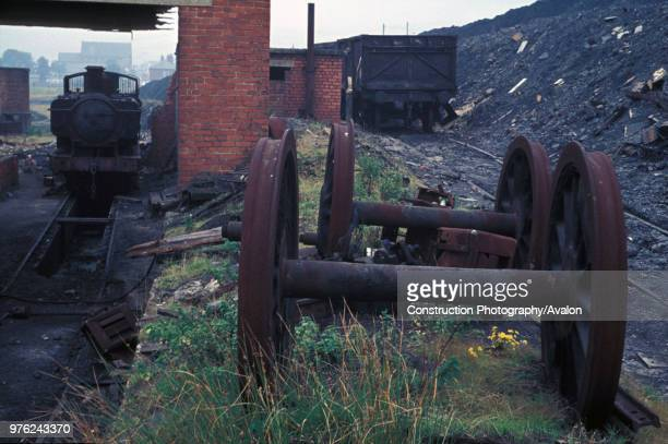 Former Great Western Railway 060PT No9792 of 1936 pensioned off for a further lease of active life at Maerdy Colliery South Wales Caught here...
