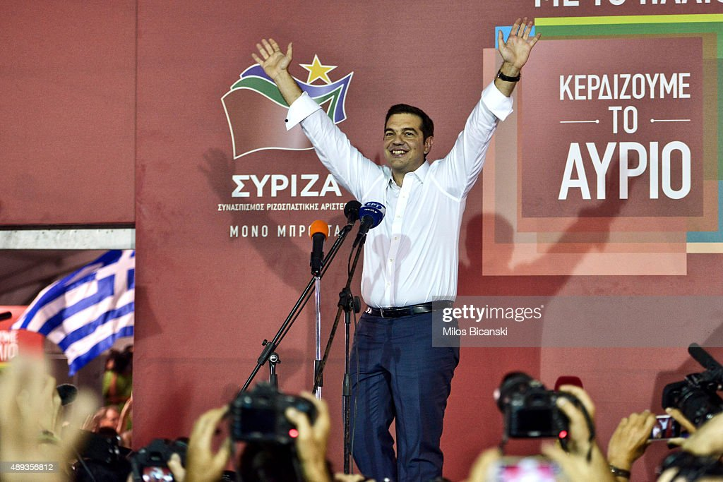 Greece Holds Second National Election This Year : News Photo