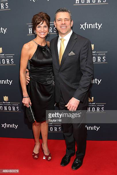 Former Green Bay Packers quarterback Mark Brunell attends the 3rd Annual NFL Honors at Radio City Music Hall on February 1 2014 in New York City