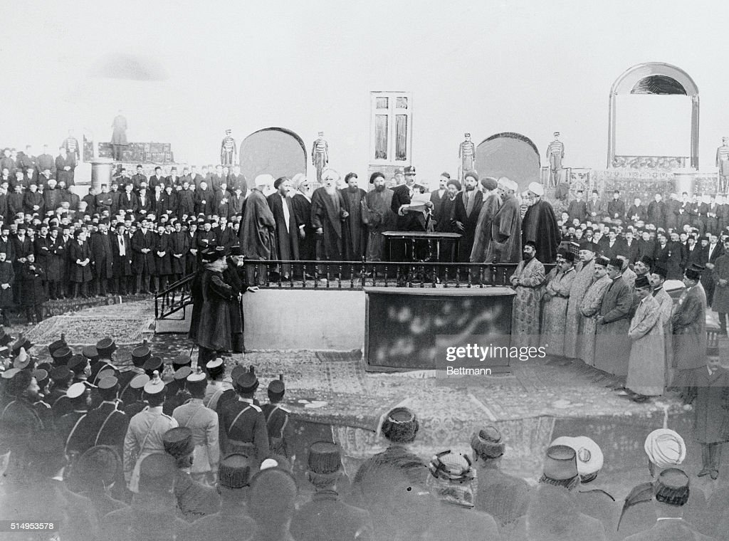 Coronation of Persian King : News Photo