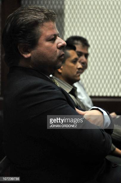 Former Guatemalan deputy Manuel Castillo one of nine people accused of the murder of then Central American Parliament deputy Eduardo D'Aubuisson...