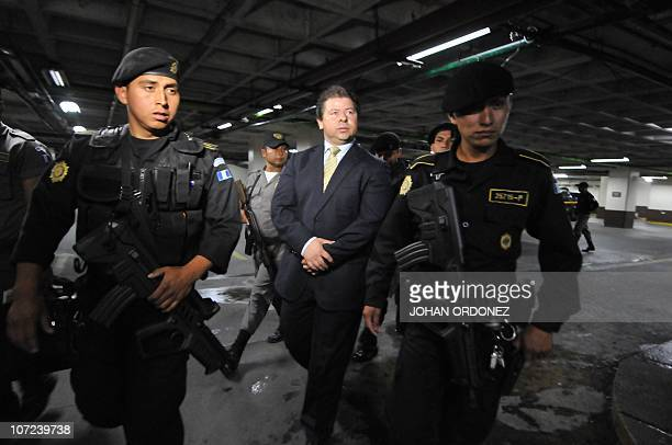 Former Guatemalan deputy Manuel Castillo one of nine people accused of the murder of then Central American Parliament deputy Eduardo D'Aubuisson is...