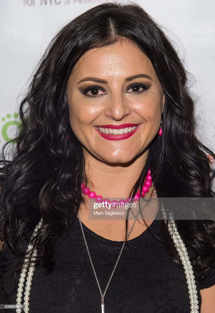 Former gymnast Dominique Moceanu attend the 12th Annual NY Pet Fashion Show at Hotel Pennsylvania on February 11, 2016 in New York City.