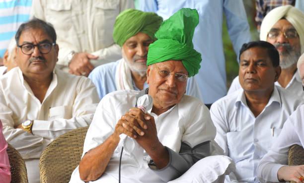 IND: Former Haryana Chief Minister Om Prakash Chautala Addresses Media In Chandigarh