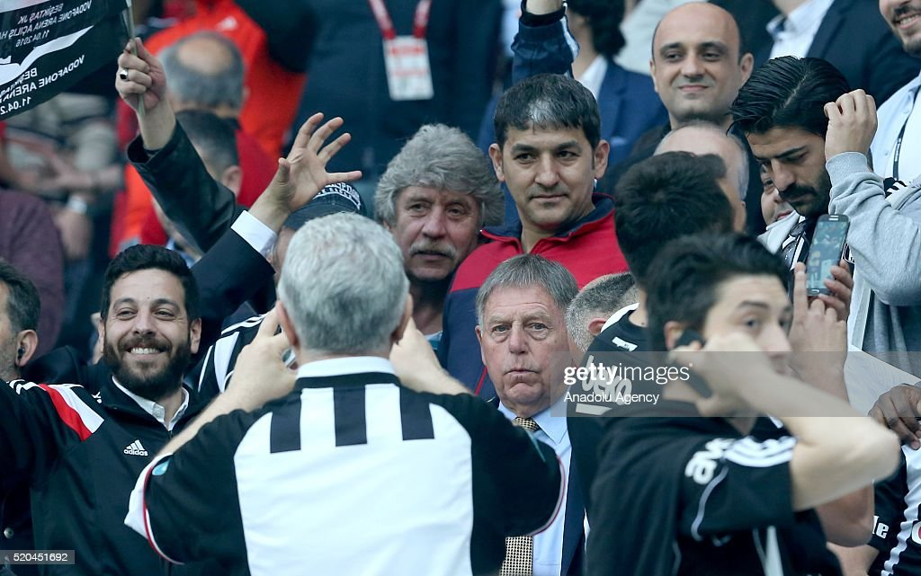 Ahead of the Besiktas v Bursaspor football match at Vodafone Arena : News Photo