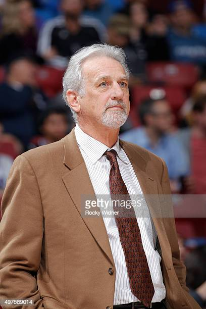 Former head coach Paul Westphal attends the game between the Brooklyn Nets and Sacramento Kings on November 13 2015 at Sleep Train Arena in...